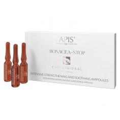 APIS ROSACEA- STOP Intensywnie wzamcniające i łagodzące ampułki 10x3 ml